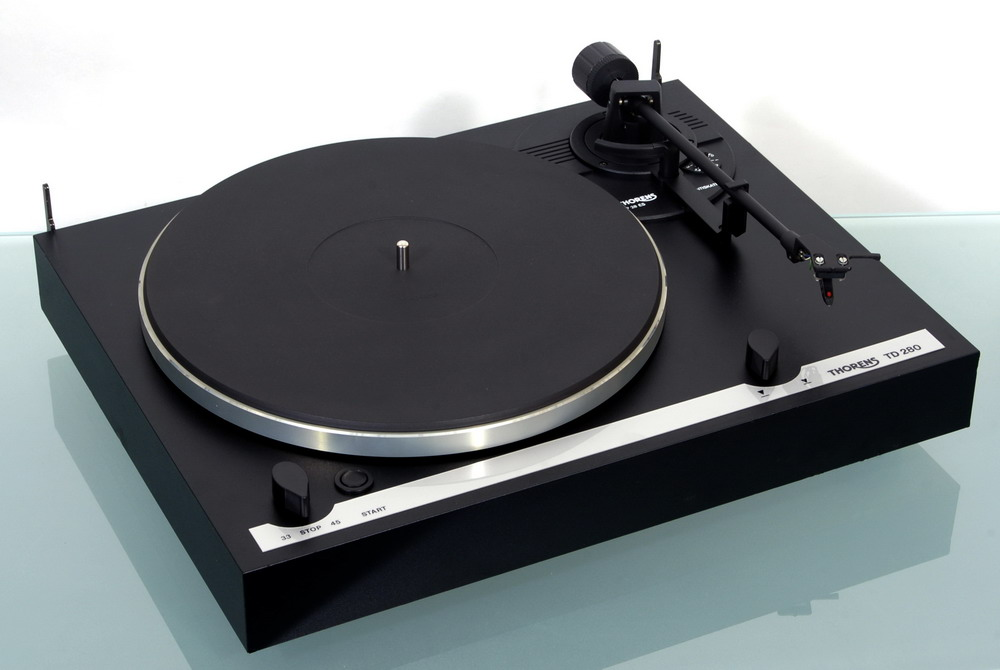 thorens td 280 highend turntable with ortofon omb 10 ebay. Black Bedroom Furniture Sets. Home Design Ideas